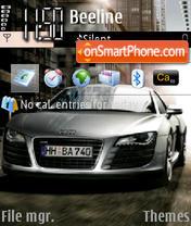 Audi R8-3 es el tema de pantalla