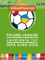 Euro 2012 theme screenshot