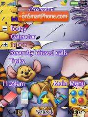 Pooh N Friends 01 theme screenshot