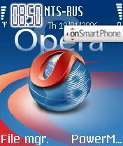 Opera v1 theme screenshot