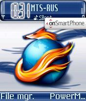 Glass FireFOX theme screenshot