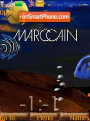 Marccain Clock (SFW) theme screenshot