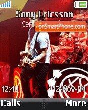 Blink 182 04 theme screenshot