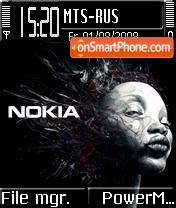 Nokia Elektro es el tema de pantalla