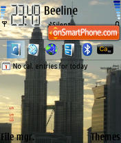 Petronas theme screenshot