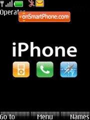 Capture d'écran iphone thème