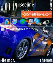 NFS by L9.0 theme screenshot