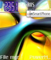Manish Passion theme screenshot