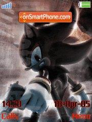 Shadow The Hedgehog es el tema de pantalla