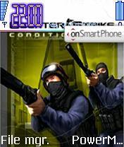 Counter Strike Theme es el tema de pantalla