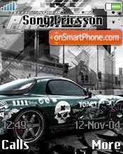 Nfs Pro Street 04 es el tema de pantalla
