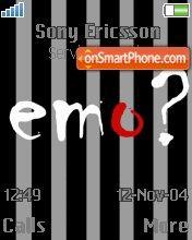 Emo 16 es el tema de pantalla