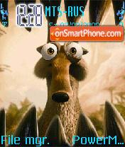 Animated Ice Age 3 theme screenshot