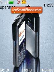 Capture d'écran Nokia 6300 02 thème