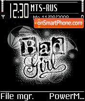 Bad Girl es el tema de pantalla