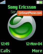 Sony Ericsson Green es el tema de pantalla
