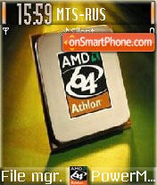 Amd64 theme screenshot