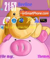 Pig es el tema de pantalla