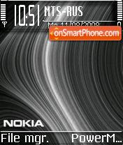 Nokia Black Curves v2 es el tema de pantalla