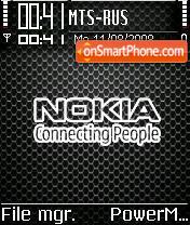 Nokia Grille es el tema de pantalla