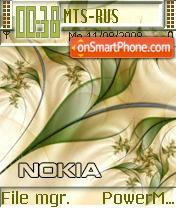 Nokia Naturals es el tema de pantalla
