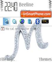 M es el tema de pantalla
