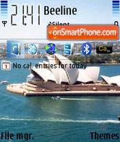 Sydney Opera House theme screenshot