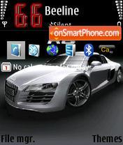 Audi R8 V3 es el tema de pantalla