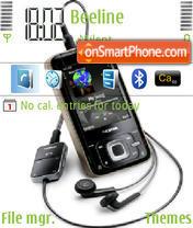 Nokia n81 theme screenshot