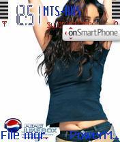 Pepsi Bollywood theme screenshot
