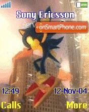 Sonic theme screenshot