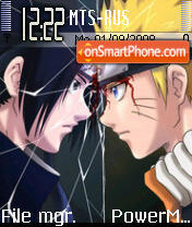 Naruto3 theme screenshot