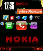 Anim. Nokia theme screenshot