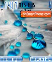 Blue Dew theme screenshot