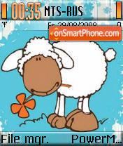 Sweet Sheep es el tema de pantalla