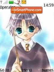 Harry Potter anime style tema screenshot
