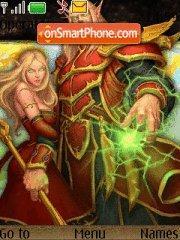 Warcraft game elf theme screenshot