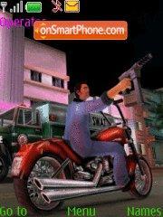 Vice City theme screenshot