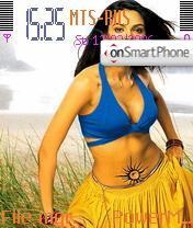 Malika Sherawat 2 theme screenshot