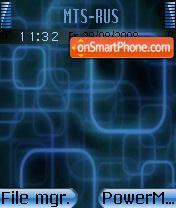 Rectablue theme screenshot