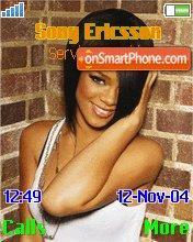 Rihanna theme screenshot