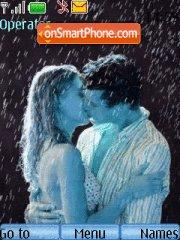 Kiss In Rain theme screenshot