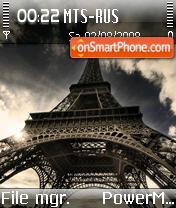 Paris 07 es el tema de pantalla
