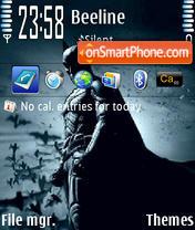 Batman The Dark Knight 01 theme screenshot