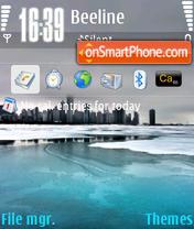 Ice City Lake es el tema de pantalla