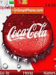 Capture d'écran Coca-cola thème