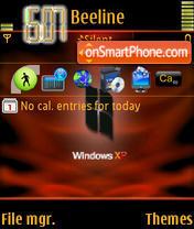 Xp Red theme screenshot