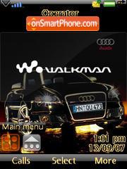 Audi Cabrio theme screenshot