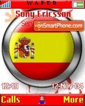 Espana theme screenshot