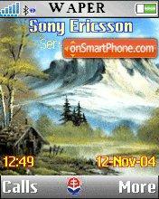 Mountain theme screenshot